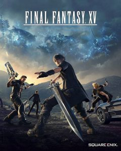 final fantasy 15 box art