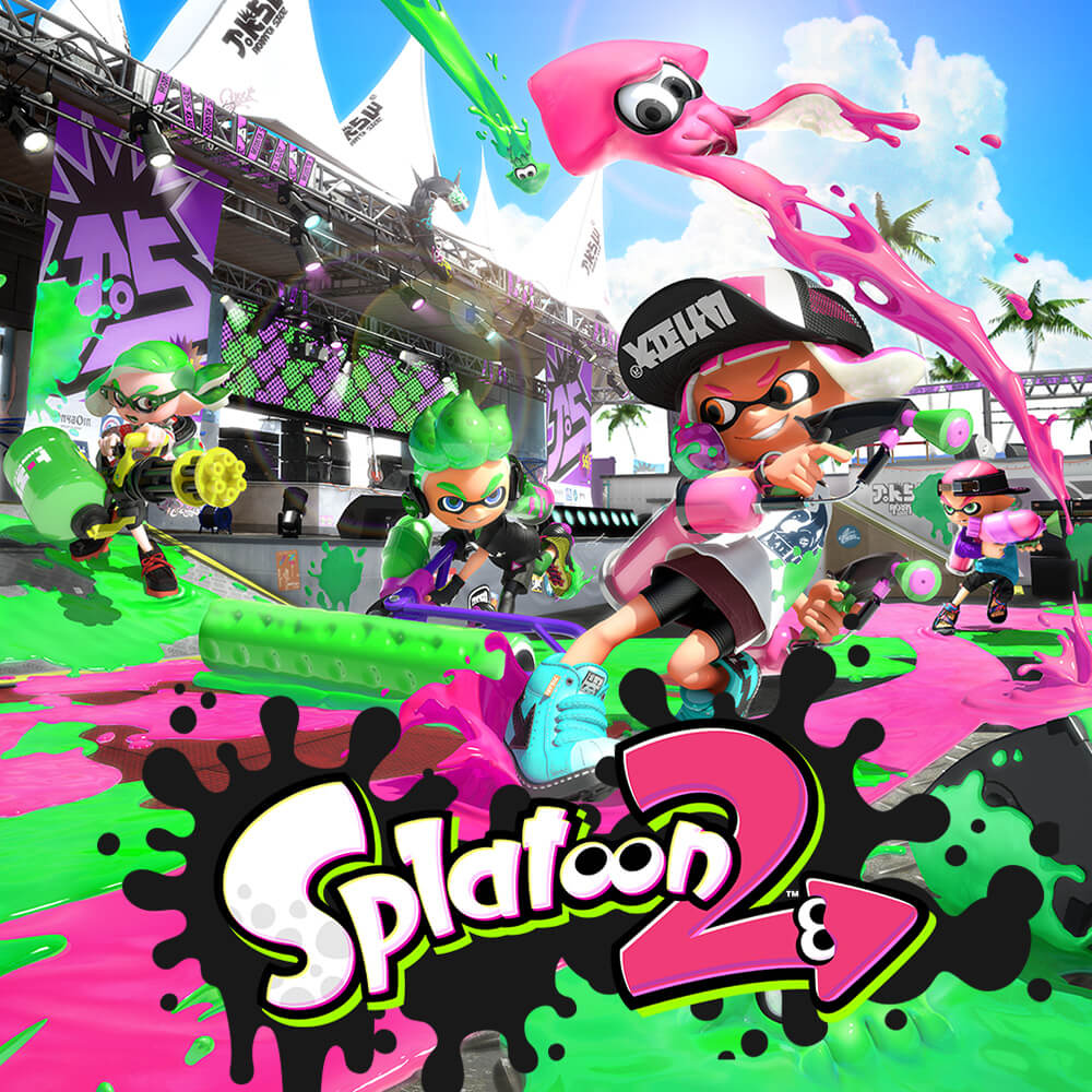 Splatoon 2 Box Image