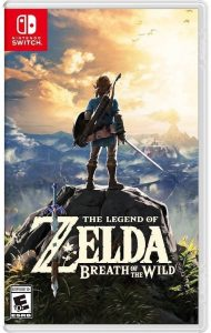 Zelda Breath of the Wild Boxart