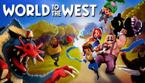 world to the west box art