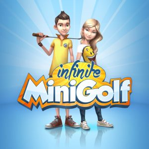 infinite minigolf box art square
