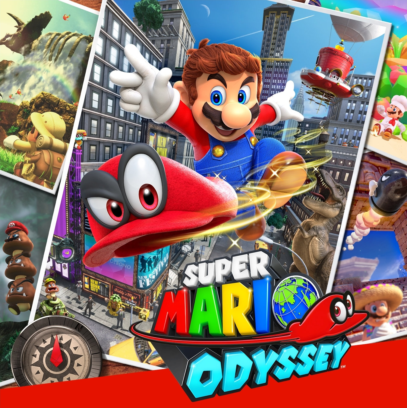 super mario odyssey box art square