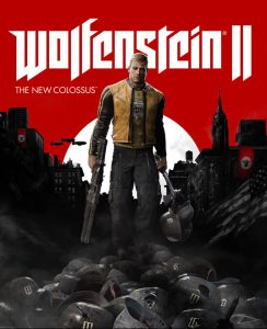 wolfenstein 2 box art