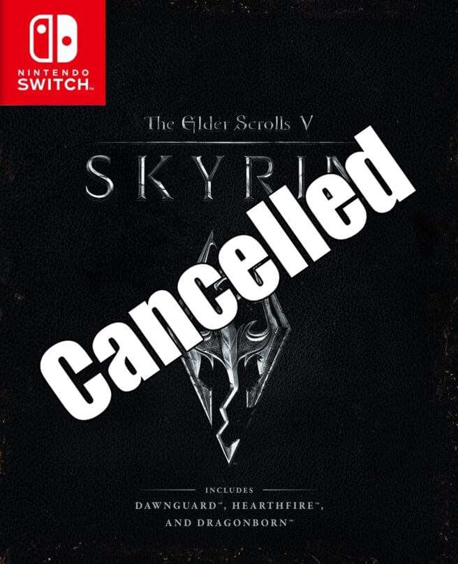 skyrim cancelled