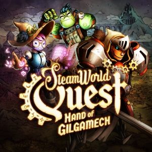 Steam World Quest Box Art